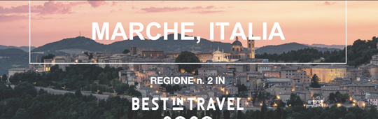 Best in travel 2020 - Le Marche Region in 2nd Place for Best Regions