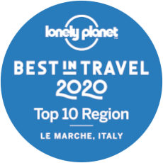 Regione Marche best in travel 2020 by Lonely Planet